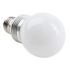 E26/E27 LED Globe Bulbs G60 3 High Power LED 270lm Natural White 6000K AC 85-265V