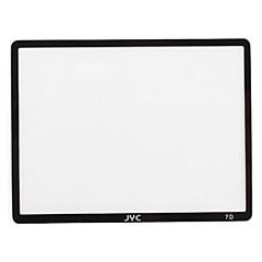 JYC pro optisch glas lcd-scherm beschermer voor Canon 7D
