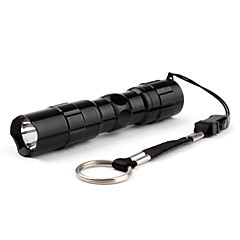 cheap -LED Flashlights / Torch LED 50 lm 1 Mode LED Super Light Small Size Compact Size Everyday Use Traveling Black