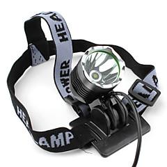 Linternas LED Linternas de Cabeza Faro Delantero LED 1200 lm 3 Modo Cree XM-L T6 Recargable Táctico para Sí