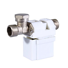 Su hava gazı 12v 0,5 inç elektrikli selenoid vana (beyaz)
