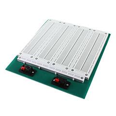SYB-118t 4-in-1 merge solderless prototyyppi breadboard-valkoinen vihreä