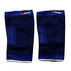 abordables Armwarmers y Legwarmers y cubre-zapatos-nylon deportes térmico rodillera (azul)