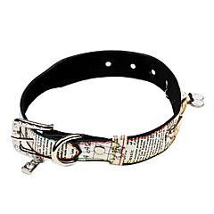 お買い得  犬用首輪/リード/ハーネス-犬 カラー 調整可能 / 引き込み式 / ラインストーン PUレザー ホワイト / ピンク
