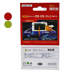 Screen Protector with Cleaning Cloth for 3DS XL (Assorted Color)