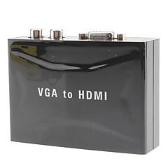 HDMI 1.3 Convertitore, HDMI 1.3 to VGA 2RCA Convertitore Femmina/femmina