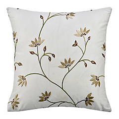 Country Embroidery Polyester Decorative Pillow Cover