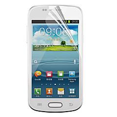 PET Materiale Samsung schermo Protecter per i8190 (pellicola trasparente)