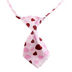 お買い得  猫の服-ネコ / 犬 ネクタイ / ボウタイ 犬用ウェア ピンク ナイロン コスチューム ペット用 結婚式