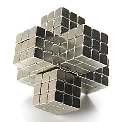 halpa -Magneettilelut Rakennuspalikat Neodyymimagneetti 216 Pieces 5mm Lelut Magneetti Magneetti Neliö Lahja