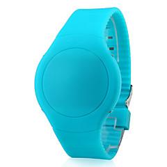 preiswerte Tolle Angebote auf Uhren-Herrn Armbanduhr Touchscreen / Kalender / Kreativ Silikon Band Schwarz / Weiß / Rot / LED