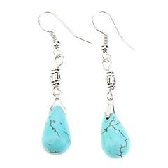 preiswerte Ohrringe-Damen Türkis - Türkis Modisch Blau Modische Halsketten Für Alltag