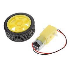 1: 48/1: 120 tt motor cu angrenaj inteligent cu șasiu robotic cu roți dințate cu roți dințate cu roți diy rc kit de jucării