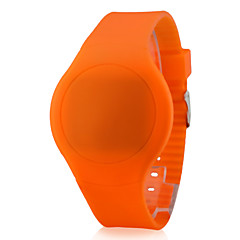 お買い得  大特価腕時計-男性用 リストウォッチ タッチスクリーン / カレンダー / クリエイティブ シリコーン バンド ブラック / 白 / レッド / LED