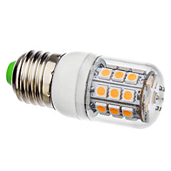 cheap LED Bulbs-3500lm E26 / E27 LED Corn Lights T 30 LED Beads SMD 5050 Warm White 110-130V 220-240V