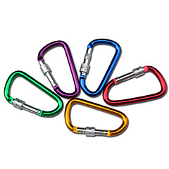 Carabiners Climbing Outdoor Alloy cm pcs