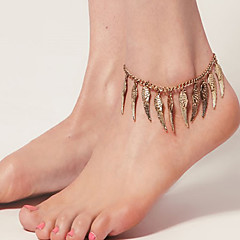 Vintage Anklets Angel Wings damskie