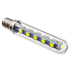 cheap LED Bulbs-2.5W 6000 lm E14 LED Corn Lights T 16 leds SMD 5050 Natural White AC 220-240V