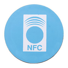 Rfid αυτοκόλλητο ετικέτα nfc με πίσω κόλλα (10 τεμ)