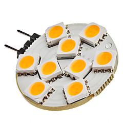 preiswerte LED-Birnen-SENCART 1.5W 3200lm G4 LED Doppel-Pin Leuchten 9 LED-Perlen SMD 5050 Warmes Weiß 12V