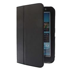 お買い得  タブレット用ケース-ケース 用途 防水 / フルボディケース / スタンド付き フルボディーケース 純色 ハード PUレザー のために