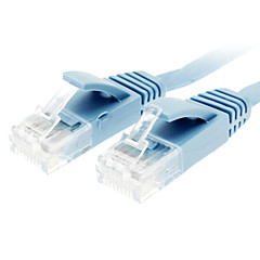 Cat 6 Male to Male Network Cable Flat Type Blue(5M)