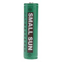 SmallSun 18650 Batteries 2400 mAh for Camping/Hiking/Caving
