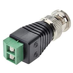 abordables Cables de Audio y Vídeo-BNC macho a conector hembra adaptador verde