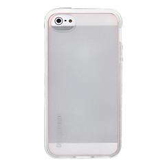 Для Кейс для iPhone 5 Полупрозрачный Кейс для Задняя крышка Кейс для Один цвет Мягкий TPU iPhone SE/5s/5