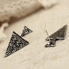 preiswerte Ohrringe-Damen Ohrstecker - Personalisiert, Punk, Erklärung Silber / Bronze Für Alltag