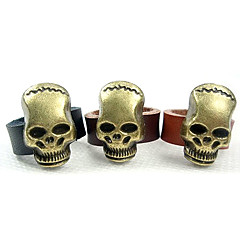 tanie Pierścionki-eruner®men za styl europejski 3d Skull Ring (dobrany rozmiar)