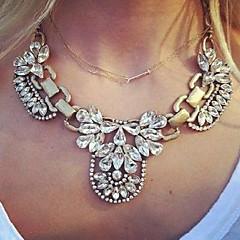 Dames Hangertjes ketting Vintage Kettingen Leder Legering Modieus Kostuum juwelen Sieraden Voor Causaal