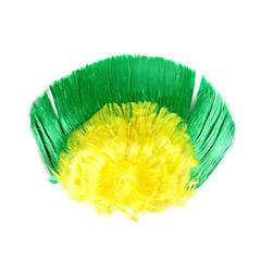abordables Artículos de Fiesta-La Copa Mundial de los aficionados peluca brasileña