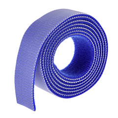 cheap Cable Organizers-Magic Tape Blue 100m*20mm for managing wire