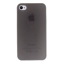 Недорогие Кейсы для iPhone-Кейс для Назначение iPhone 4/4S Apple Кейс на заднюю панель Мягкий ТПУ для iPhone 4s/4