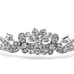 boda tiara aleación de plata para la novia (1 unidad)