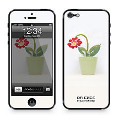"Da Code ™ Skin for iPhone 4/4S: ""Potten Flower"" (Creative Series)"