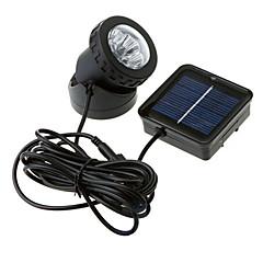 billige Utendørsbelysning-1pc Natt Lys Soldrevet Vanntett