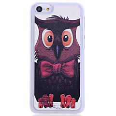 Modelo fresco Owl nuevo caso para el iPhone 5C
