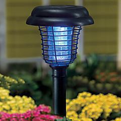 태양 광 발전 정원 마당은 램프 표시 등 버그 zapper 해충 곤충 모기 살인범을 주도