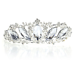 Women's Rhinestone Alloy Headpiece-Wedding Special Occasion Tiaras