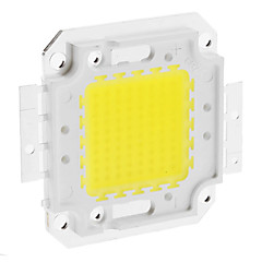 voordelige Krachtige LED's-DIY 80W 6350-6400LM 2400mA 6000-6500K Cool White Light Integrated LED-module (30-36V)