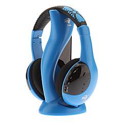 Hi-fi Stereo Wireless Comfortabel Blue Hoofdtelefoon