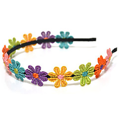 headbands de lureme®multicolor miúdo flor