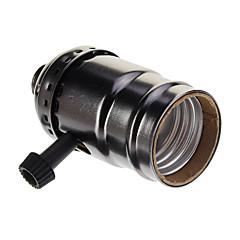 sort belagt skruelampeholder (250w, 250v) højkvalitets belysningsudstyr
