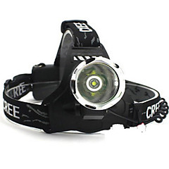Headlamps Lanterns & Tent Lights Headlight LED lm 5 Mode Cree XM-L T6 for Camping/Hiking/Caving Traveling