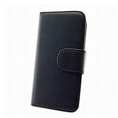 Mert Samsung Galaxy tok Pénztárca / Kártyatartó / Állvánnyal / Flip Case Teljes védelem Case Egyszínű Műbőr Samsung Win