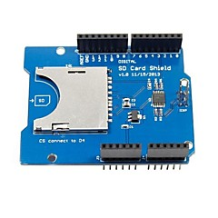 cheap -CATALEX SD / TF Card Shield Expansion Board  for (For Arduino) (Works with Official (For Arduino) Boards)