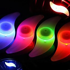 cheap -Bicycle Spoke Lights Wheel Lights LED Cycling Multi Color Waterproof Lumens Cycling/Bike