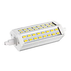 3.5 R7S LED-lampa T 48 lysdioder SMD 5730 Varmvit 250-300lm 6000-6501K AC 220-240V